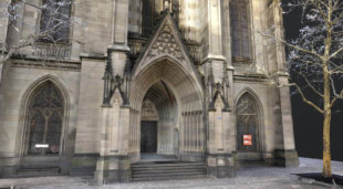 nahaufnahme-details-3D-visualisierung-3d-rendering-cgi-mesh-modell-elisabethenkirche-basel-hohe-auflösung-drohne-2