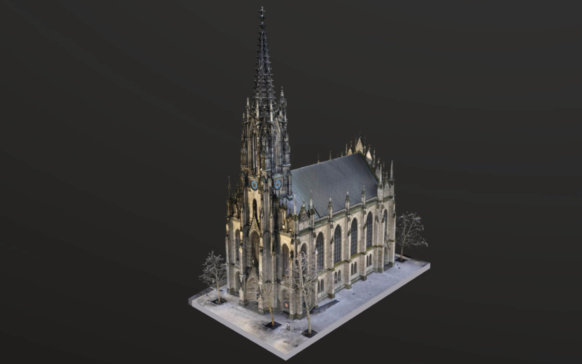 foto-details-scan-nahaufnahme-3D-visualisierung-3d-rendering-cgi-mesh-modell-elisabethenkirche-basel-hohe-auflösung-drohne-5