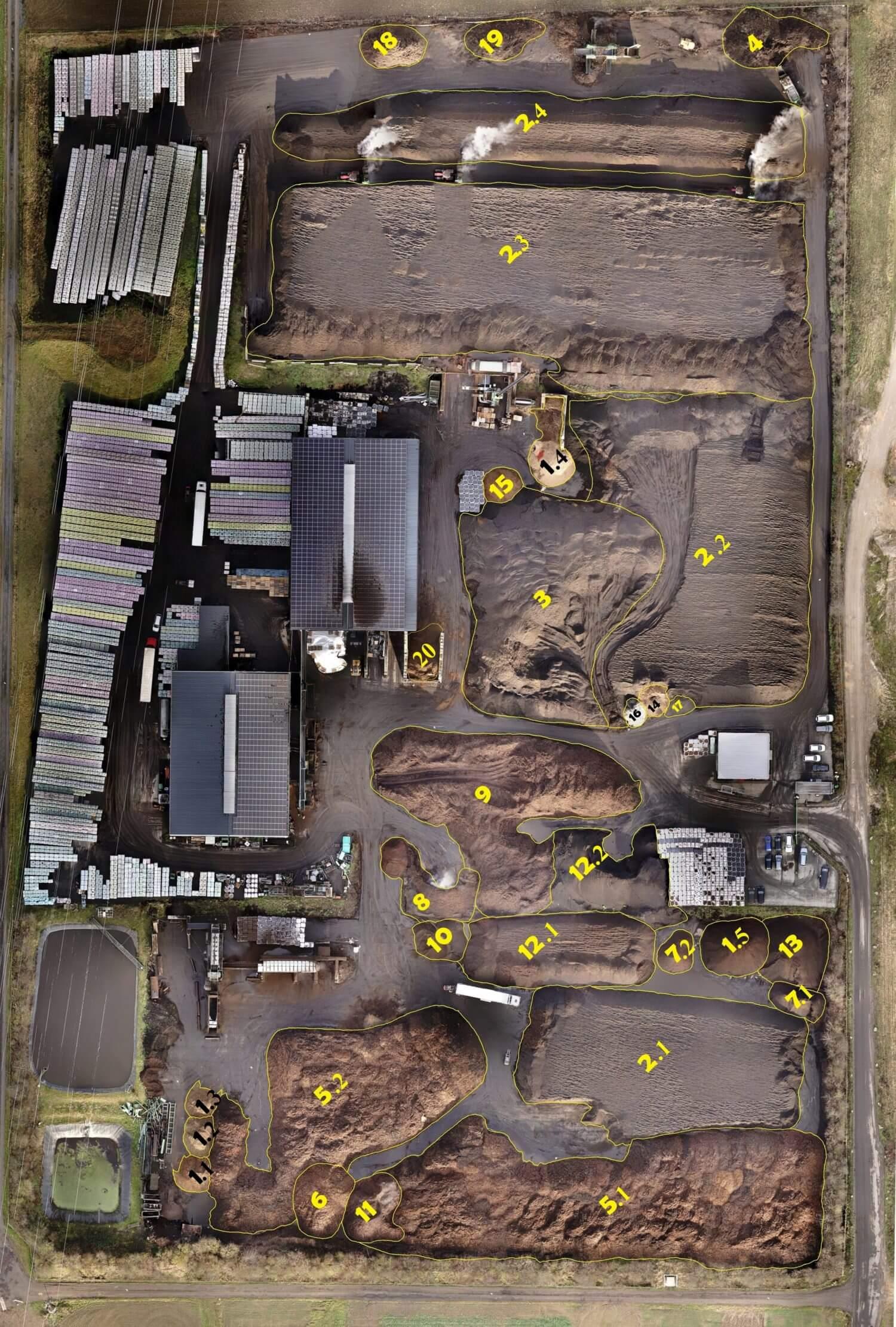 Georeferenzierte-Punktwolke-der-Drohne-zur-Volumenberechnung-durch-Punktwolken-Auswertung