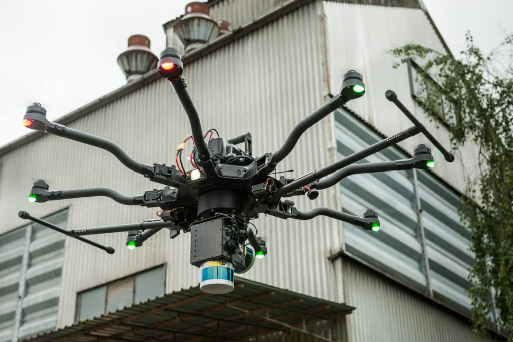 LiDAR Drohne Photogrammetrie Drohnen Dienstleistung