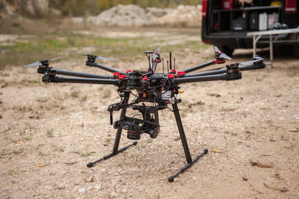 Scanner Drohne Photogrammetrie Drohnen Dienstleistung
