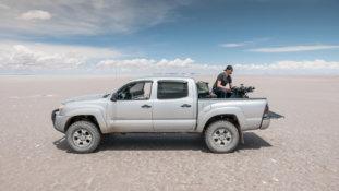 Logxon-Pilot-Bolivien-Pickup-Vermessung-Drohne