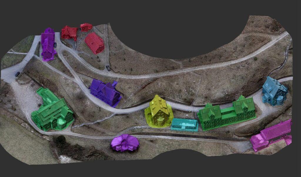 Mesh-aus-3D-Scanning-per-Drohne-Mesh-Cleanup-und-Auftreilung