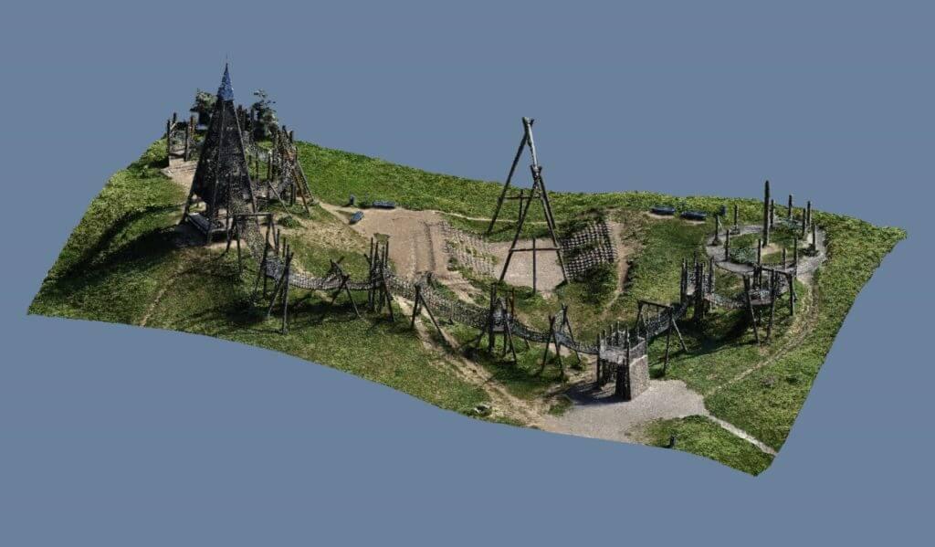 Photogrammetrische Vermessung: Ein 3D Aufmaß für Park Betreiber & Filmproduktion