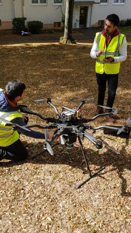Besprechung-UAV-Laserscanning-Vermessung-Nordhessen-3D-Bestandsmodellierung