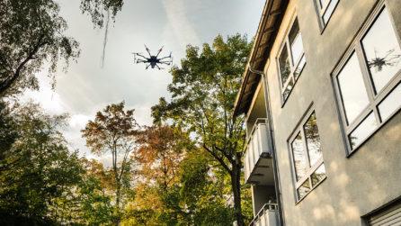 Close-Range-UAV-Laserscanning-Laserscanner-in-Action-LiDAR-Scan-UAV-Laserscanning-Vermessung-Nordhessen-3D-Bestandsmodellierung