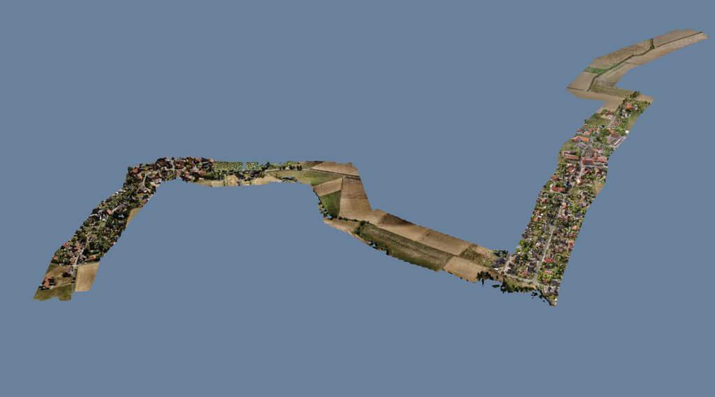 Moderne Fernerkundung: Auskundung per Drohne durch Korridorbefliegung im Trassenbau