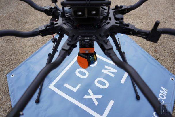 Detailbild-GeoSLAM-ZEB-HORIZON-3D-mobile-Scanner-UAV-Laserscanner-Test-UAV-Laserscanning-LiDAR-Drone-Drohne-Freefly-Alta8