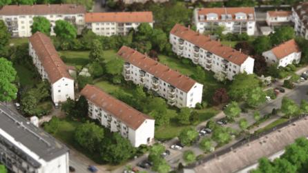 3D-Bestansmodell-3D-Rendering-2D-Rendering-3D-Architektur-Visualisierung-Außenrenderings-Darmstadt-Postsiedlung-Moltketrasse-vorher