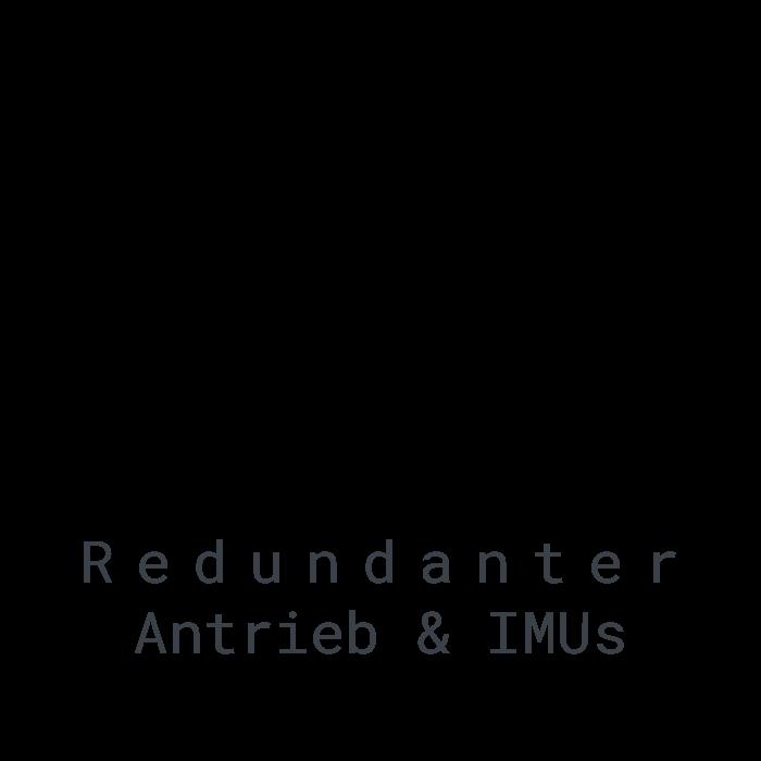 LOGXON-Icon-Text-Sicherheit-Redundanz-Schutzschild-Redundanter-Antrieb-Redundante-IMUs