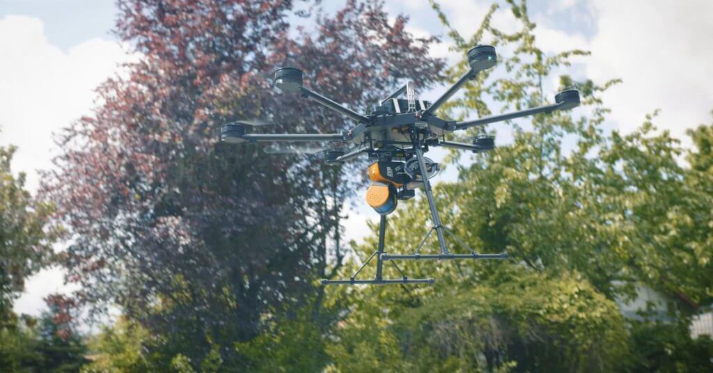 Video: GeoSLAM ZEB-HORIZON Workflow mit LOGXON PORTER Drohne