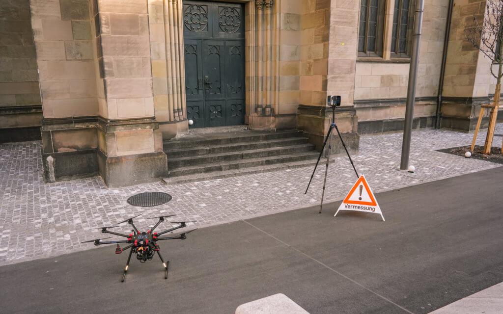 Faro-Laserscanner-LiDAR-Drohne-3D-Vermessung-von-Kirchen-per-Drohne-terrestrischer-Photogrammetrie-Laserscanning