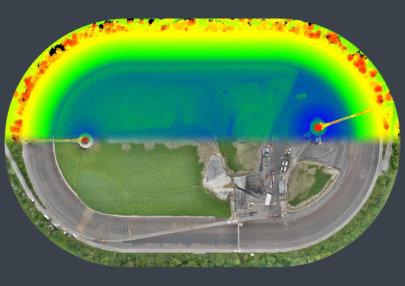 Flächenvermessung-per-Drohne-Orthofoto-Höhenmodell-3DScan-Wasserkraftwerk-Schadenskartierung-Auswertung