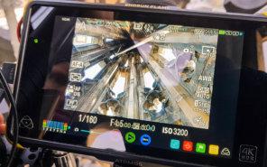 Messbild-Monitor-Messkamera-Kirchturm-Inspektion-3D-Vermessung-von-Kirchen-per-Drohne-terrestrischer-Photogrammetrie-Laserscanning-3D-Denkmalvermessung
