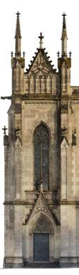 Fassaden-Ansicht-Orthofoto-Fassadenansicht-Kirche-3D-Vermessung-Kirchen-Drohne-Photogrammetrie-Laserscanning-Denkmalvermessung-Kirchen
