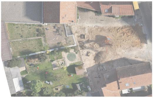 2D-Plan-Grundriss-mit-Orthofoto-Kombinierte-3D-Gebaeudeaufnahme-Drohne-Laserscanner-Weingut-Pfalz