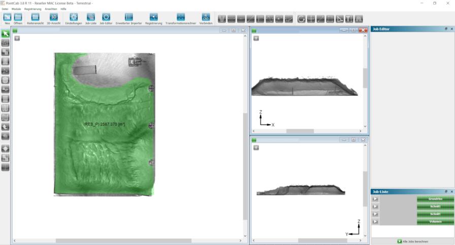 Auswertung-Laserscan-Punktwolke-Pointcab-Volumen-Volumenbestimmung-Massenermittlung-LiDAR-Laserscan-Punktwolke
