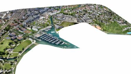hafen-schiffe-foto-totale-weitwinkel-3D-visualisierung-3d-rendering-cgi-mesh-modell-biehl-schweiz-drohne-scan-3