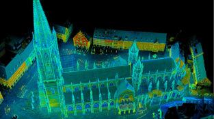 LOGXON-Freiburg-Muenster-Vermessung-Laserscan-Porter-Punktwolke-scan-laser-kirche-pointcloud-3D-Kirchen-Vermessung-per-Drohne