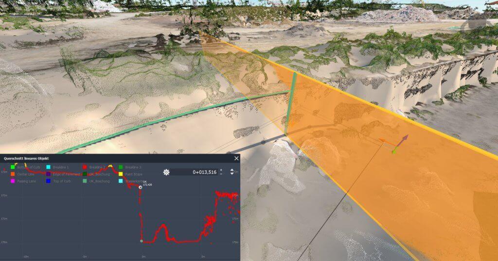 Screenshot-Gelaendeprofil-Bruchkante-digitales-Gelaendemodell-fuer-digitales-Oberflaechenmodell-digitale-Gelaendemodelle-digitale-Oberflaechenmodelle-DGM-DOM-DHM