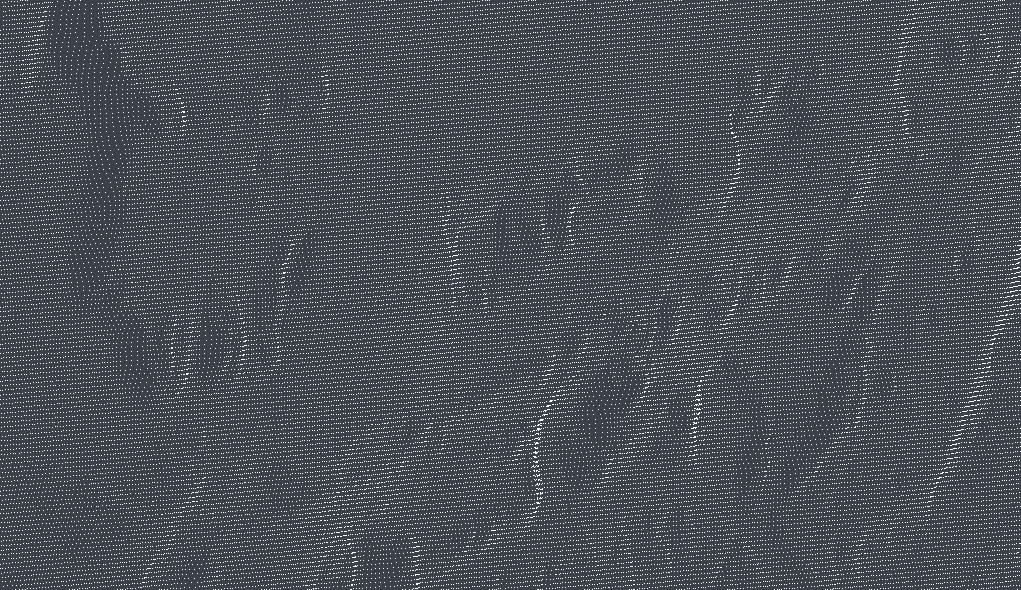 Screenshot-Raster-Hoehenpunkte-fuer-digitales-Gelaendemodell-Hoehenmodell-Hoehenpunkte-Gelaendemodell-mit-XYZ-Koordinate-Punktwolke-Klassifiziert-Bodenpunkte-gefiltert