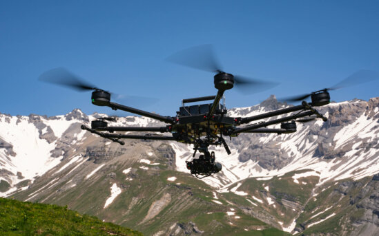 High-Altitude-Air-to-Air-Shot-LOGXON-PORTER-Photogrammetry-Drone-Surveying-Mapping-Mountains-Swiss-Alps