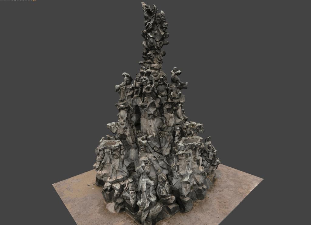 3D-Model-Huguenot-Fountain-Erlangen-Textured-Mesh-VR-Model-3D-Surveying-Monument-Protection-Drone-Terrestrial-Photogrammetry