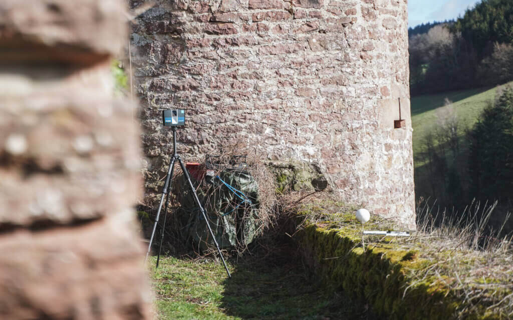 Faro-LiDAR-Scanner-Laser-scanner-laserscanning-Burg-Freienstein-Vermessung-Laser-Scanner-Monument Protection-Digitization-Cultural Property