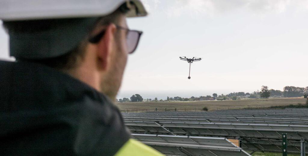 360° VR Aerial durch stabilisierte 360 grad Flugroboter von LOGXON