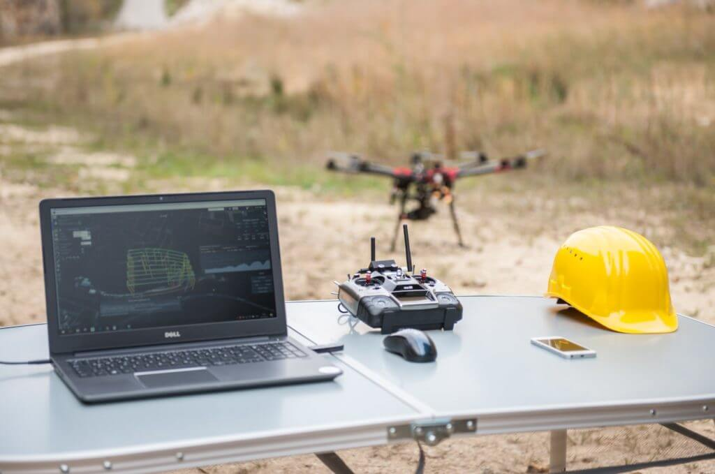 surveying-with-drone-LOGXON-drone-service-drone-mapping