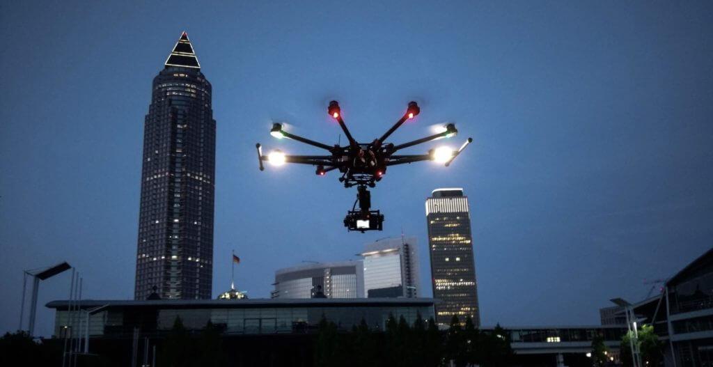 Visualisierung, Monitoring und Dokumentation des Baufortschritts mit Hilfe von Drohnen mit Drohnen