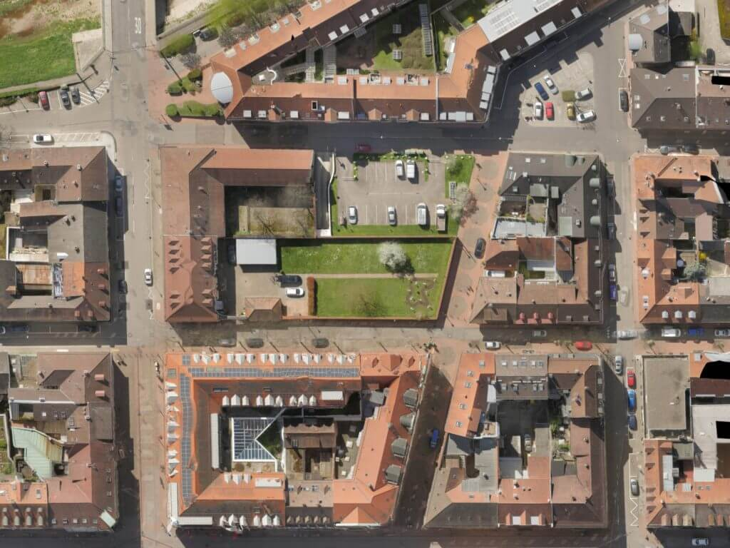Maßstabsgetreue und Verzerrungsfreie Luftbilder – Orthofotos von Drohnen