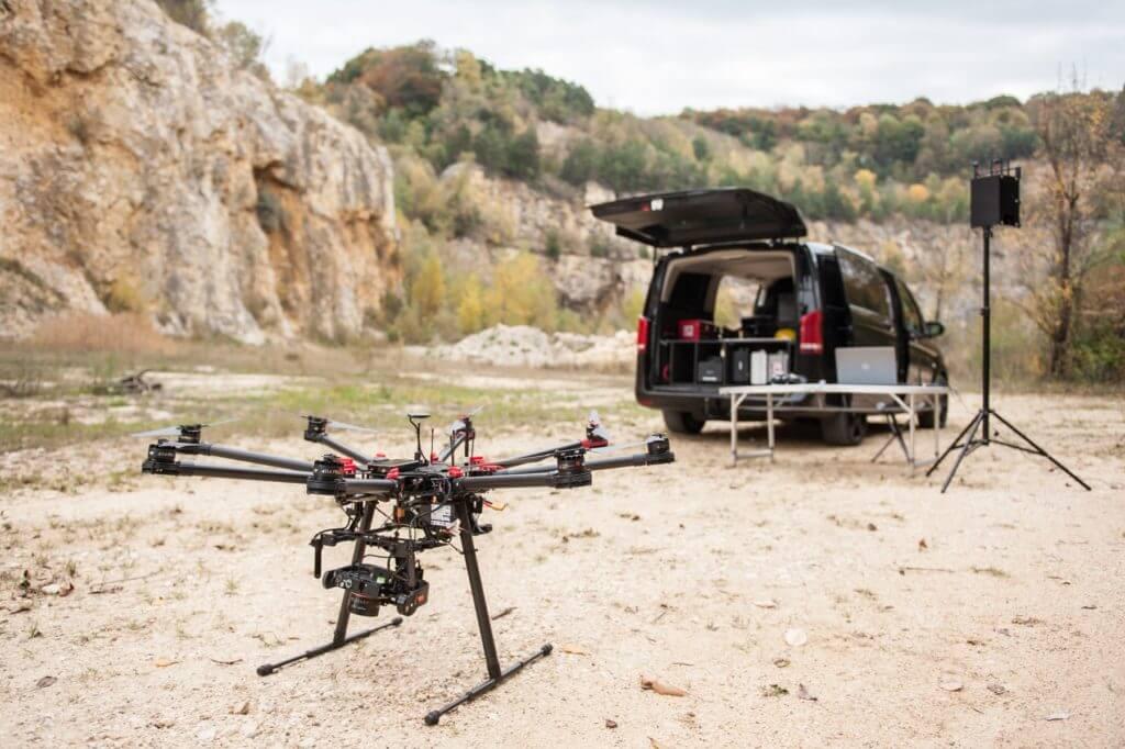 Die Vermessungsdrohne: Verformungsgerechtes 3D Aufmaß mit Multicopter