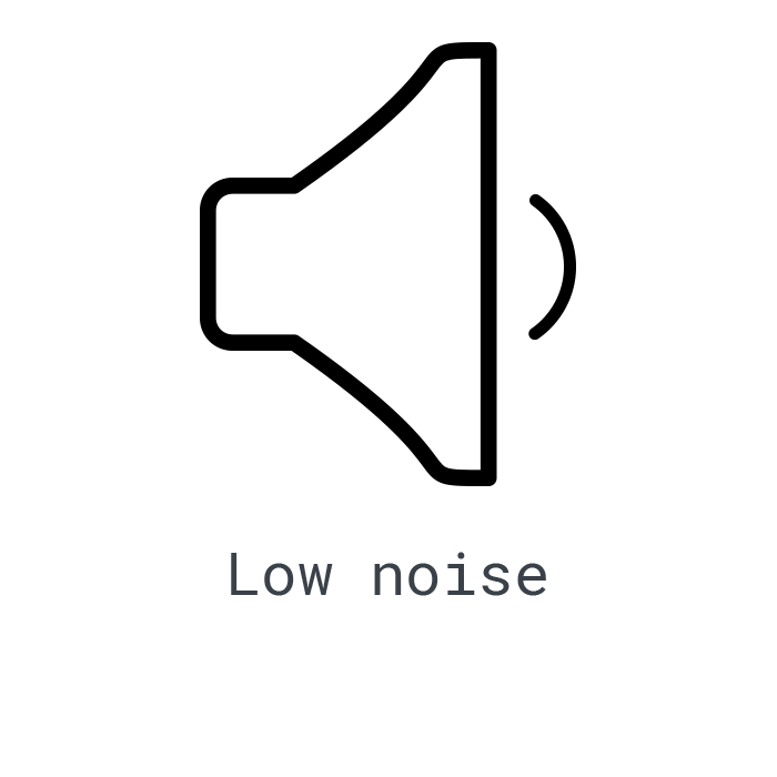LOGXON-Icon-low-noise-quiet-speaker