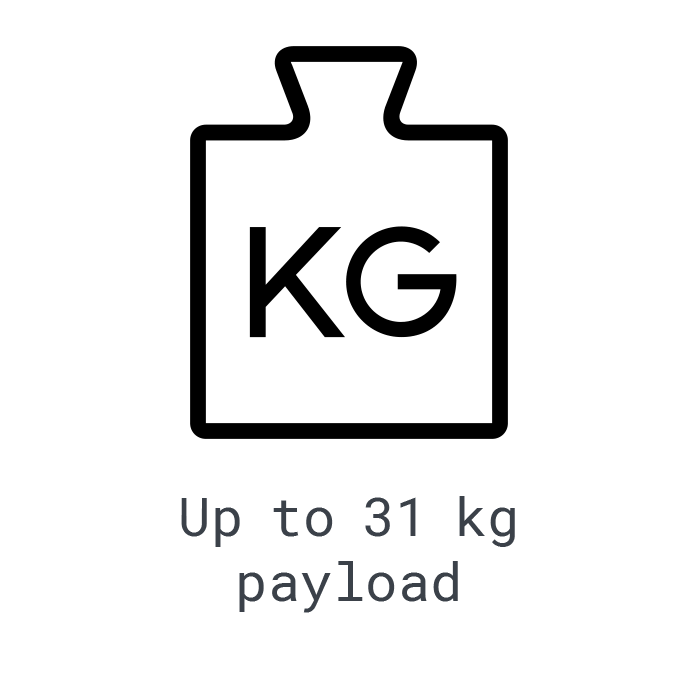 LOGXON-Icon-Payload-31-KG-weight-symbol