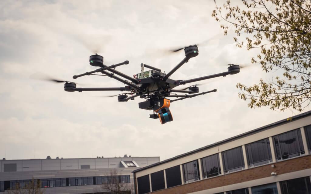 Logxon-Porter-Geoslam-HORIZON-LOGXON-PORTER-GeoSLAM-LiDAR-Scanning-Facade-PORTER-Drone